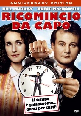 La copertina DVD di Ricomincio da capo - Anniversary edition