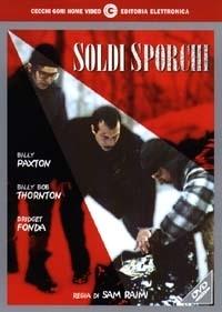 La copertina DVD di Soldi Sporchi
