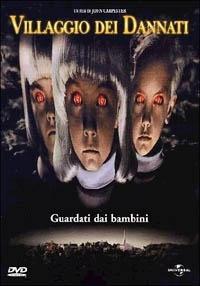 La copertina DVD di Villaggio dei Dannati