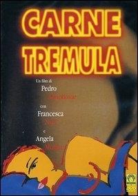 La copertina DVD di Carne trémula