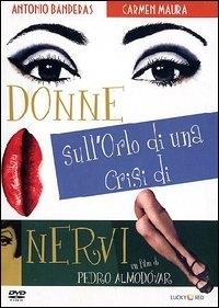 La copertina DVD di Donne sull'orlo di una crisi di nervi