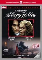 La copertina DVD di Il Mistero di Sleepy Hollow - disco singolo