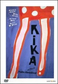 La copertina DVD di Kika - Un corpo in prestito