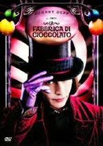 La copertina DVD di La fabbrica di cioccolato - Disco singolo