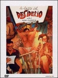 La copertina DVD di La legge del desiderio