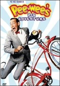 La copertina DVD di Pee-Wee's Big Adventure