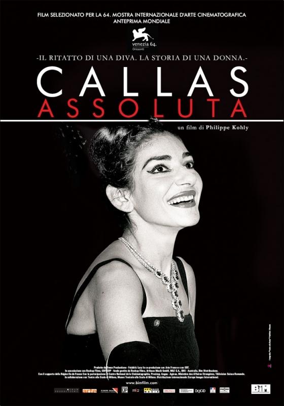 La locandina di Callas assoluta