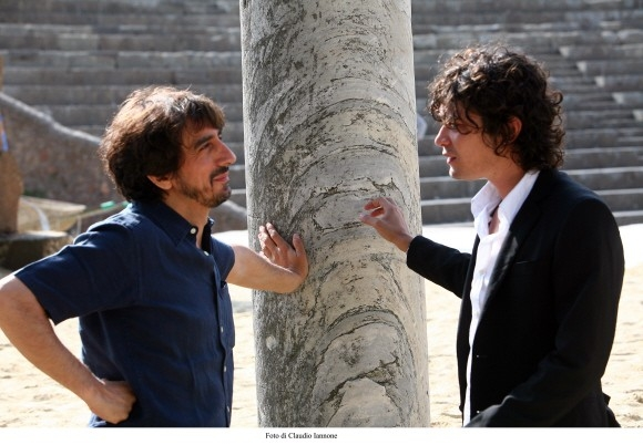 Scamarcio e Rubini in un'immagine del film Colpo d'occhio