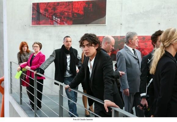 Riccardo Scamarcio in un'immagine del film Colpo d'occhio diretto da Rubini