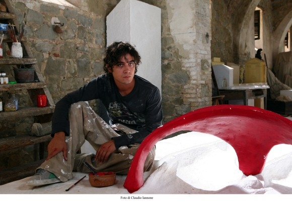 Riccardo Scamarcio in un'immagine del film Colpo d'occhio