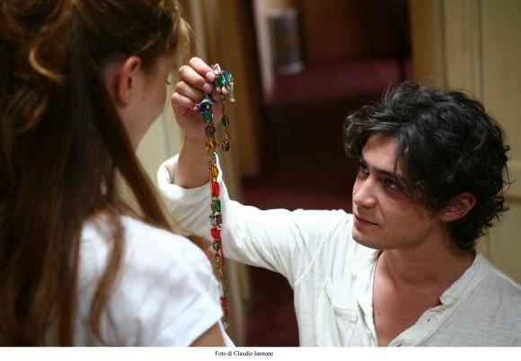 Riccardo Scamarcio in una foto del thriller Colpo d'occhio