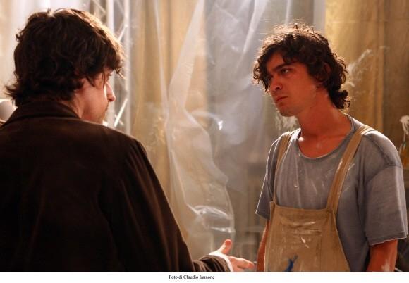 Riccardo Scamarcio in una sequenza del thriller Colpo d'occhio del 2008
