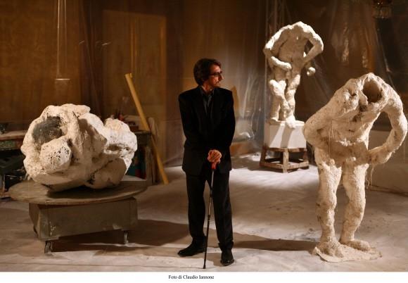 Sergio Rubini in un'immagine del thriller Colpo d'occhio