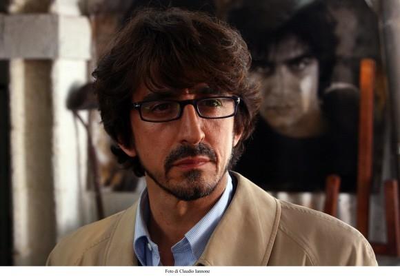 L'attore Sergio Rubini in un'immagine del thriller Colpo d'occhio