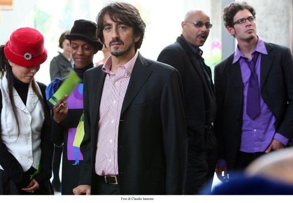 Sergio Rubini in una sequenza del thriller Colpo d'occhio da lui diretto nel 2008