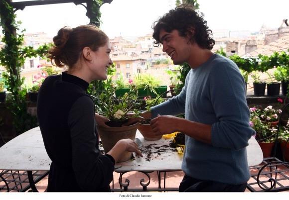 Vittoria Puccini e Riccardo Scamarcio in una foto del film Colpo d'occhio