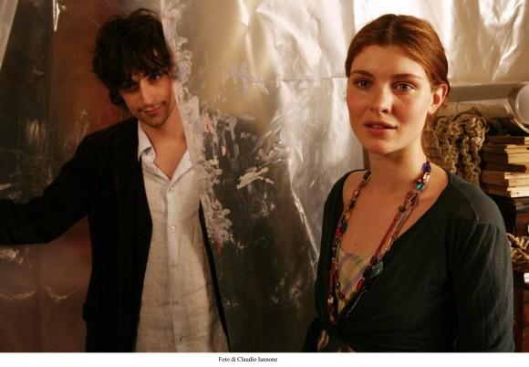 Vittoria Puccini in una scena del film Colpo d'occhio (2008)