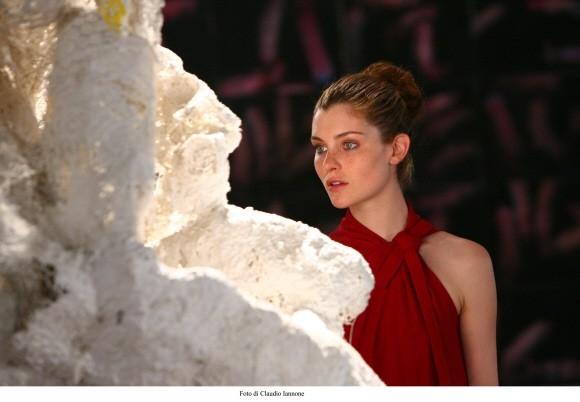 Vittoria Puccini in una scena del film Colpo d'occhio