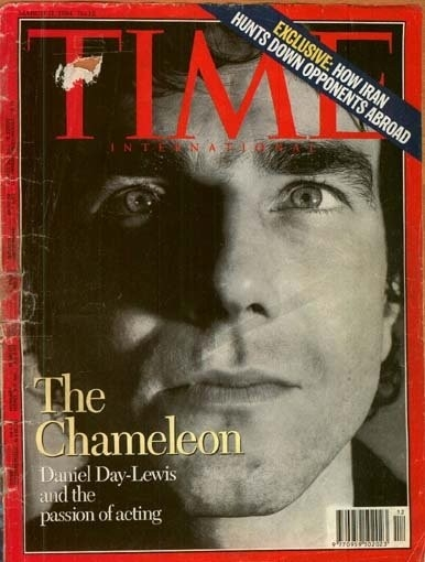 Daniel Day-Lewis in cover su Time