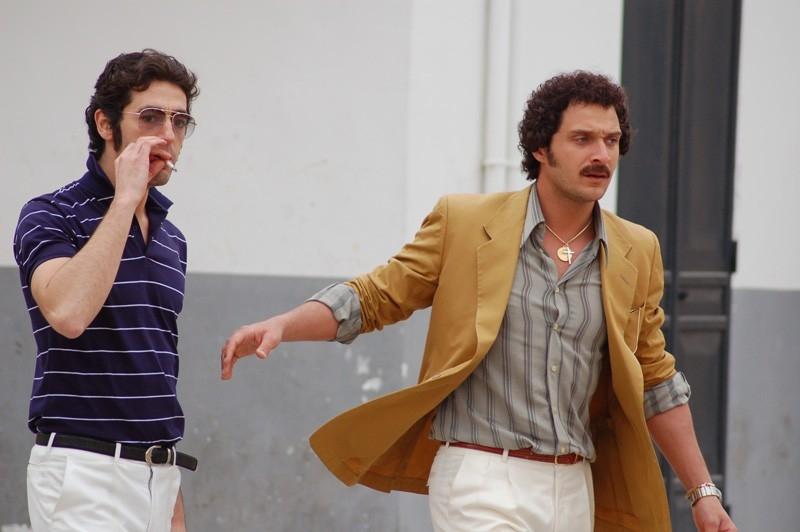 Claudio Santamaria in una sequenza del film Fine pena mai