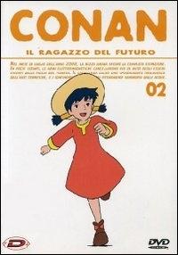 La copertina DVD di Conan - Il ragazzo del futuro - Vol. 2