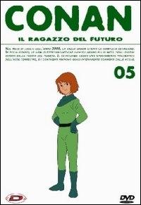 La copertina DVD di Conan - Il ragazzo del futuro - Vol. 5