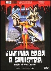 La copertina DVD di L'ultima casa a sinistra