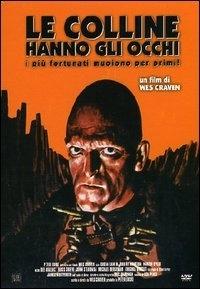 La copertina DVD di Le colline hanno gli occhi