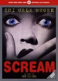 La copertina DVD di Scream