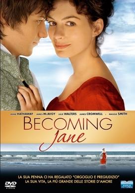La copertina DVD di Becoming Jane