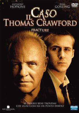 La copertina DVD di Il Caso Thomas Crawford