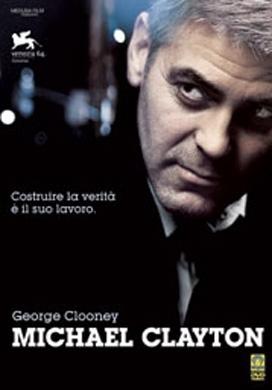 La copertina DVD di Michael Clayton