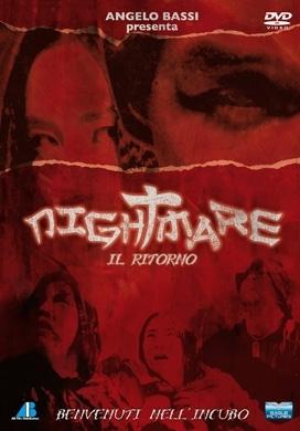 La copertina DVD di Nightmare - Il ritorno
