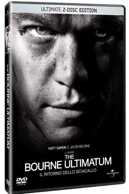 La copertina DVD di The Bourne Ultimatum - Il ritorno dello sciacallo - Edizione speciale