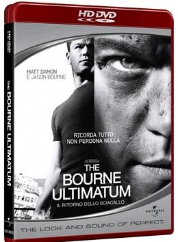 La copertina DVD di The Bourne Ultimatum - Il ritorno dello sciacallo (HD-DVD)