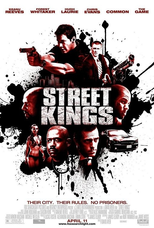 locandina di Street Kings - La notte non aspetta