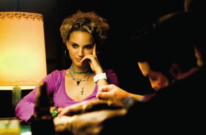 Natalie Portman in una scena del film Un bacio romantico