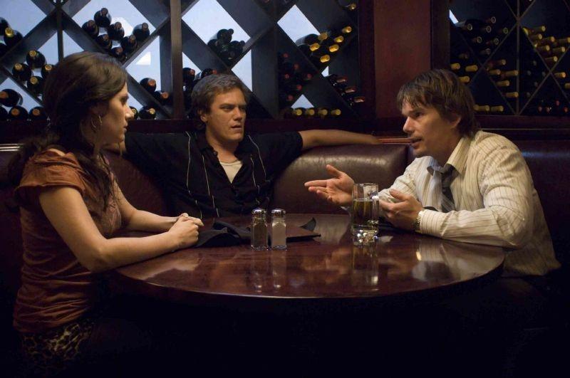Aleksa Palladino, Michael Shannon ed Ethan Hawke nel film di Sidney Lumet Onora il padre e la madre