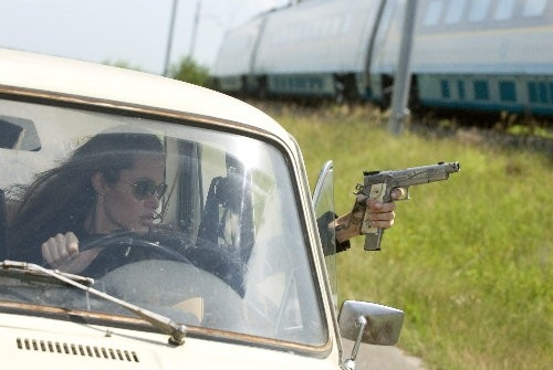 Angelina Jolie in azione in Wanted