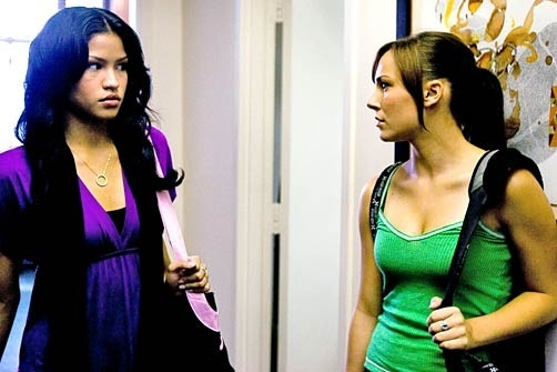 Cassie con Briana Evigan in una scena di Step Up 2
