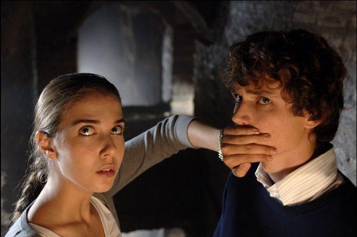 Martina Pinto e Andrea Miglio Risi in una scena del film Grande, grosso e... Verdone