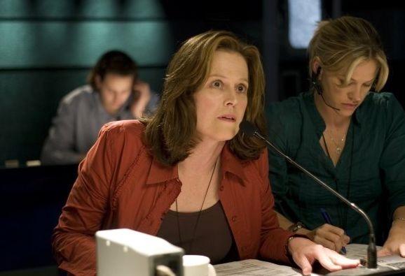 Sigourney Weaver in una scena di Prospettive di un delitto