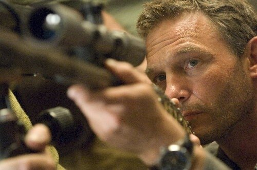 Thomas Kretschmann in una sequenza di Wanted
