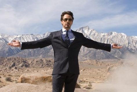 Un'immagine di Robert Downey Jr. in Iron Man