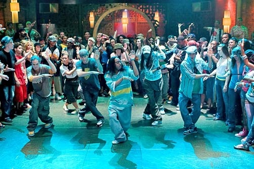 Una scena di danza di Step Up 2