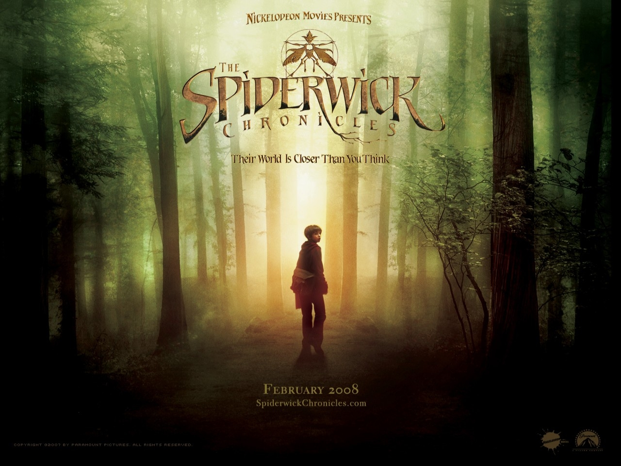 Wallpaper del film Spiderwick - Le cronache