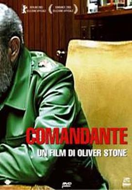 La copertina DVD di Comandante