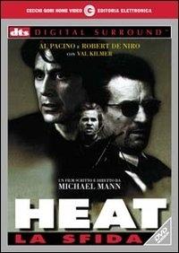 La copertina DVD di Heat - La sfida