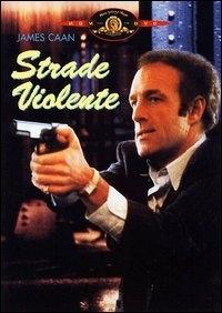 La copertina DVD di Strade violente