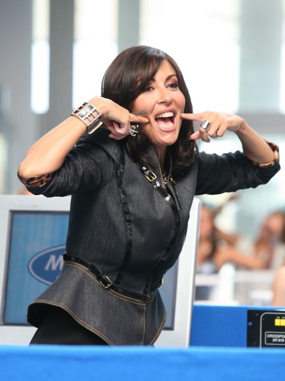 Sabrina Ferilli in un'immagine del film di Paolo Virzì Tutta la vita davanti.
